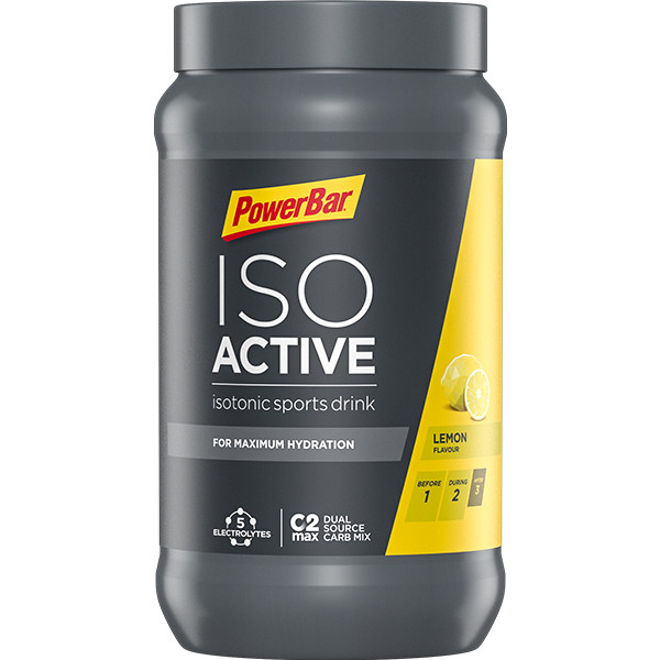 PowerBar IsoActive - citron 1320 g