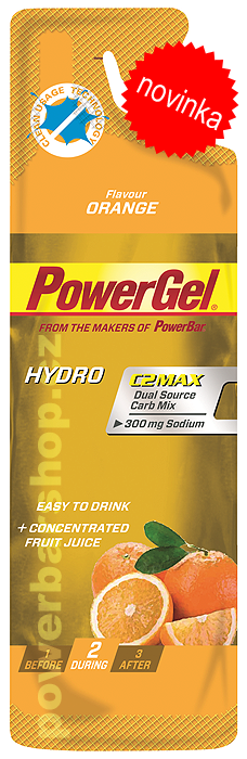 PowerBarHydroGel - pomeranč 67 ml