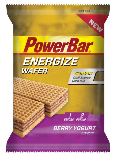 Powerbar Energize Wafer Bar - lesní směs+jogurt 40 g