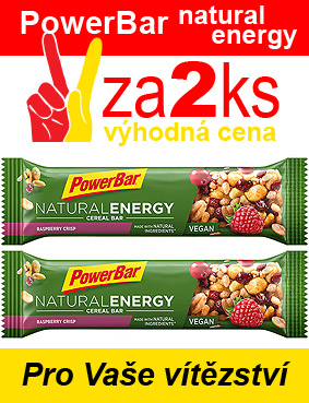 PowerBar Natural Energy tyčinka - 2 x  malina 40 g