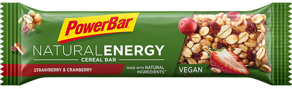 PowerBar Natural Energy tyčinka - jahoda-brusinka 40 g