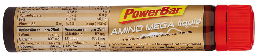 PowerBar Amino Mega Liquid ampule 25 ml (BCAA)