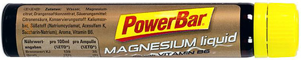 PowerBar Magnesium liquid ampule - citron 25 ml